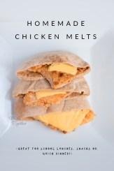 chicken melts recipe, homemade, copycat