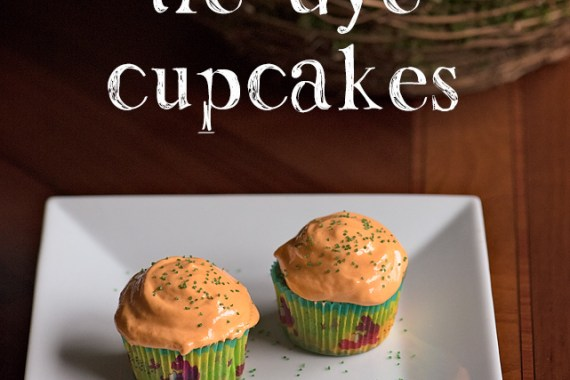 Tie-Dye Cupcakes with 7 Minute Frosting & Book Review