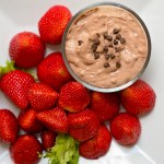 Chocolate Cream Cheese Dip