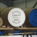 Das erste Fass der Destillerie Kilchoman auf Islay