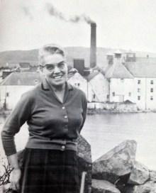 Bessie Williamson Distillery Manager Laphroaig