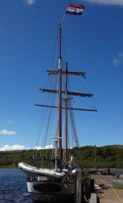 Flying Dutchman am West Loch Tarbert