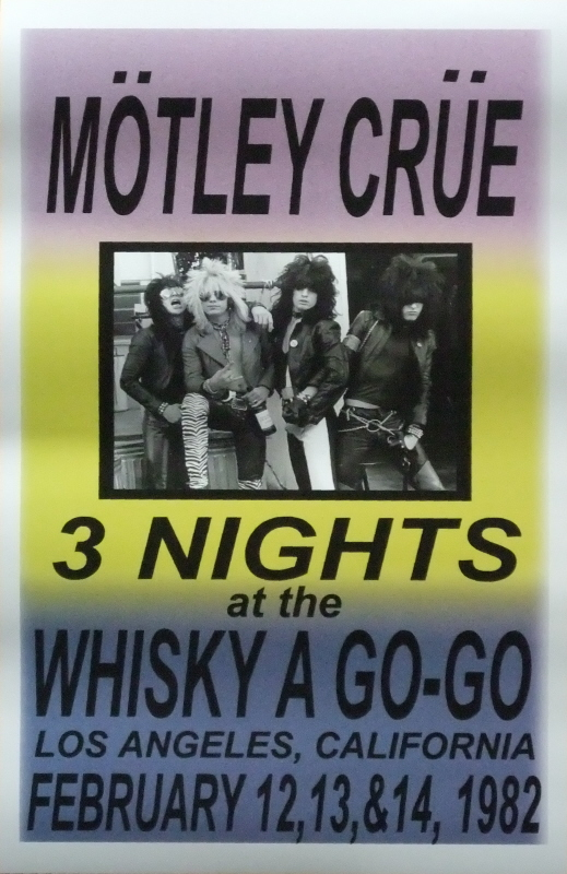 The World Famous Whisky a Go Go  Part 4  Mtley Cre