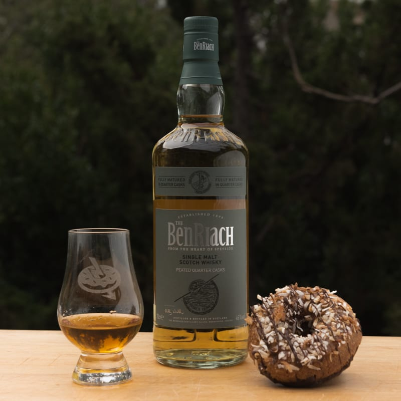Benriach Peated | Vegan Samoa - Whisky and Donuts