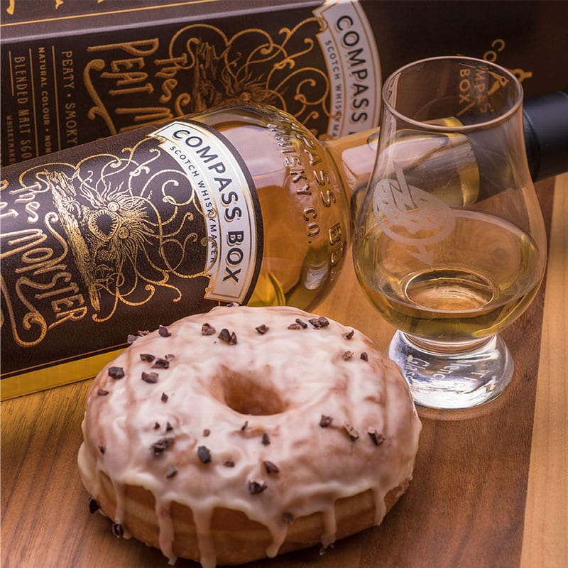 Peat Monster   Passion Fruit & Chocolate Nibs - Whisky and Donuts