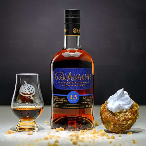 Glenallachie 15   Pumpkin Pie   Whisky And Donuts   WhiskyAndDonuts.com