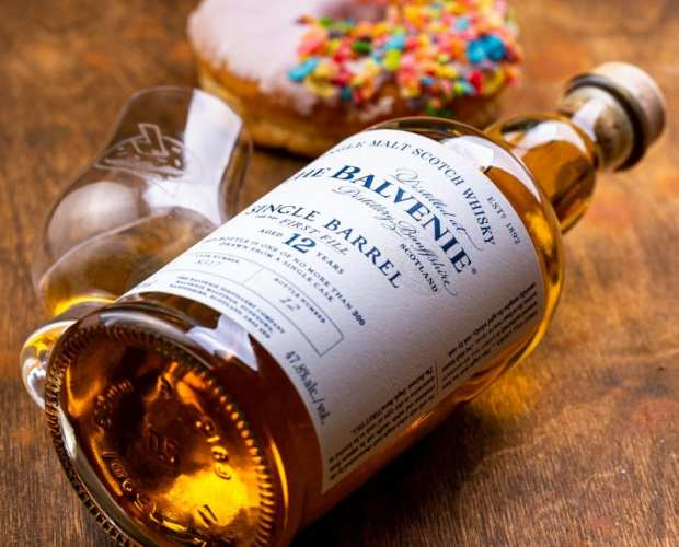 Balvenie 12 Single Barrel - Fruitty Pebbles - Whisky And Donuts - WhiskyAndDonuts.com