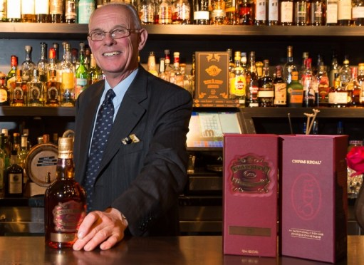 An afternoon with Colin Scott (Master Blender for Chivas Bros)