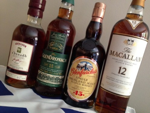 The Top Four Whiskies for Christmas