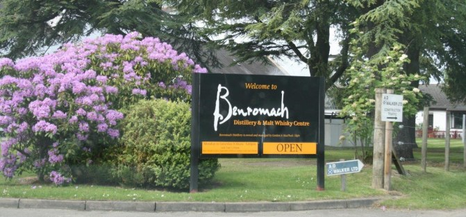 Benromach Distillery – Speyside's little jewel