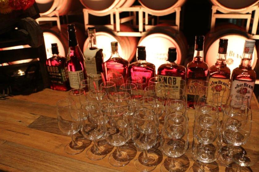 The Jim Beam line-up