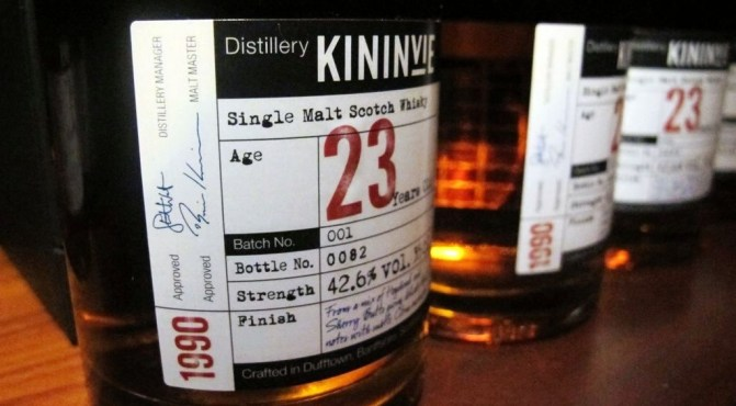 Kininvie – The distillery emerges…