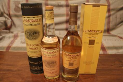Glenmorangie 10yo - another example of a whisky whose current incarnation betters its counterpart from 15 years ago.