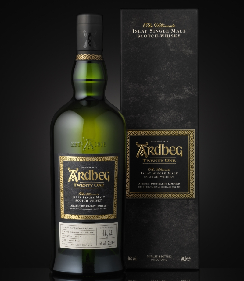 Ardbeg and the new 21yo