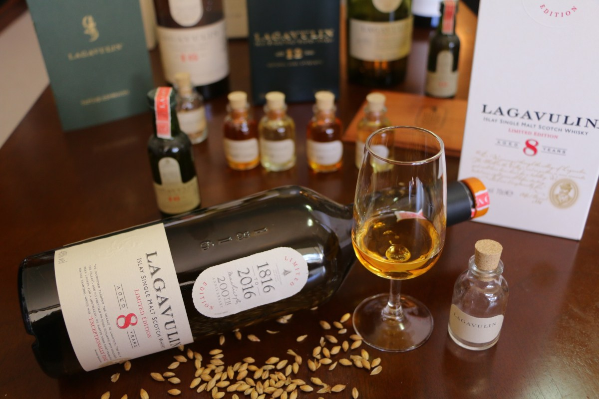 Lagavulin 8yo Launch
