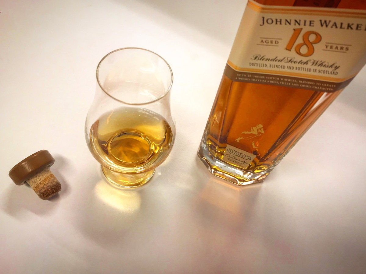 Johnnie Walker 18yo – The old is new