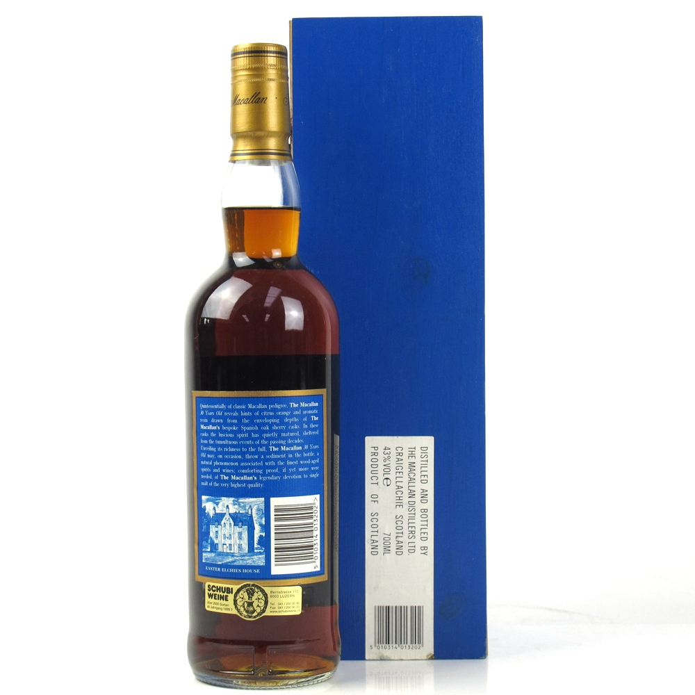 Macallan 30 Year Old Sherry Oak   Whisky Auctioneer   Scotch Whisky Auctions   Online Whisky Auction