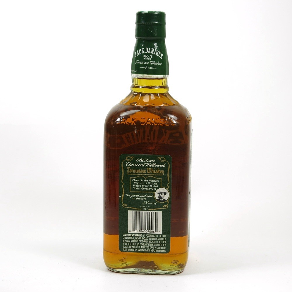 small resolution of jack daniel s green label back