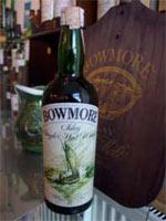 Das Highlight: Bowmore Shiplabel aus den 60ern