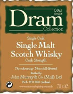 Etikett der C&S Dram Collection (c) wine-and-spririt-partner.de
