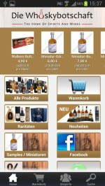 Die Whiskybotschaft App