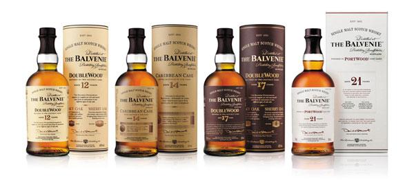The Balvenie Produktrange