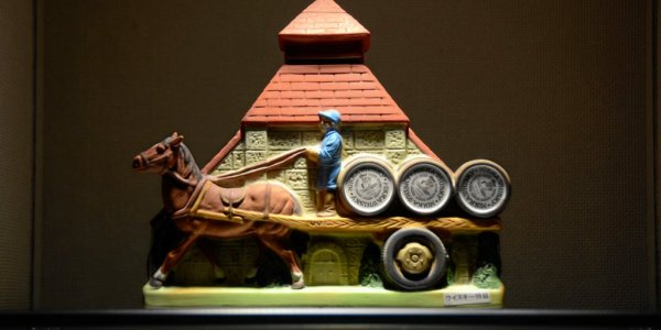 Keramik im Museum bei Yoichi