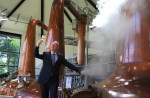 The founder of Walsh Whiskey Distillery, Bernard Walsh.