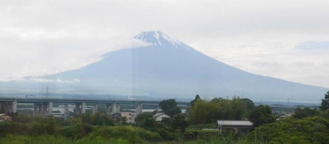 Fuji-san im Regen