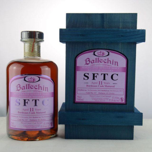 Ballechin SFTC 11 y.o. 2005 2017 Bordeaux Cask