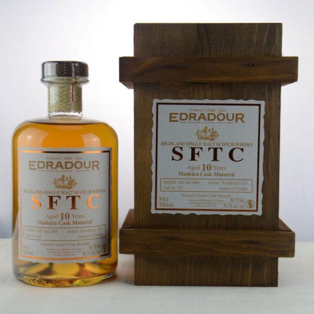Edradour SFTC 10 y.o. 2006 2017 Madeira Cask