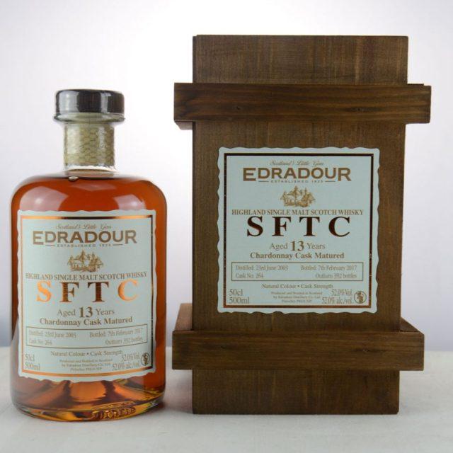 Edradour SFTC 13 y.o. 2003 2017 Chardonnay Cask