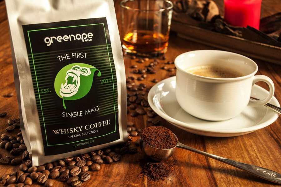 GrennApe 1st Single Malt Whisky Coffee