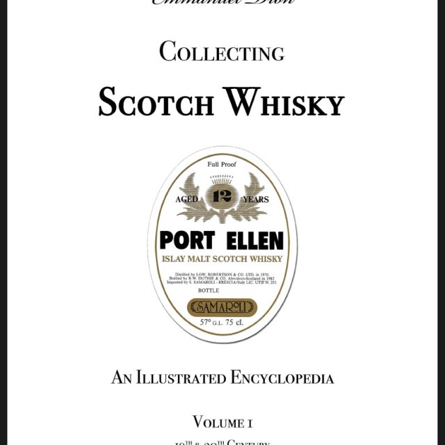 collecting-scotch-whisky-cover-640x640 COLLECTING SCOTCH WHISKY VOLUME 1 - An Illustrated Encyclopedia 19th & 20th Century