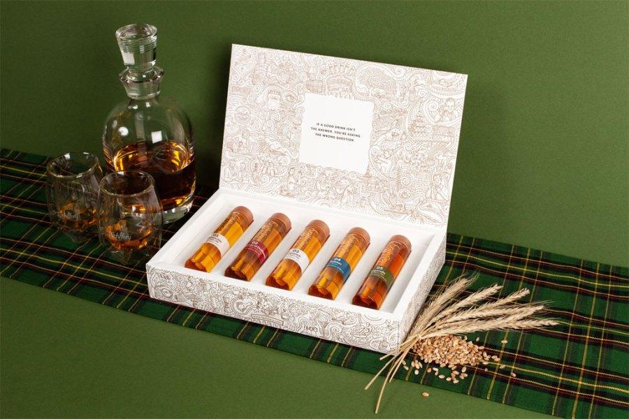 The Whisky Adventure Tasting Set von Tastillery