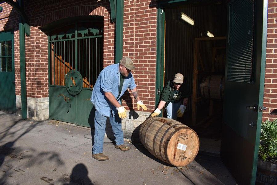 Warehouse X Experiment Barrels