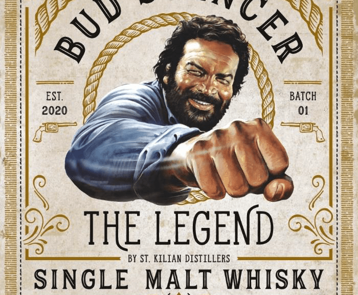 Bud Spencer The Legend Sngle Malt Whisky Label