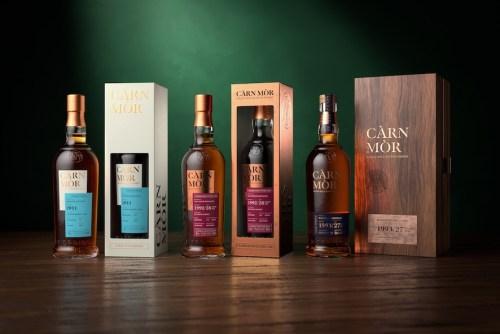 Morrison Scotch Whisky Distllers_Carn Mor Range