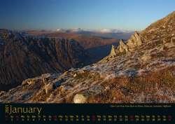 Schottland-Kalender Januar