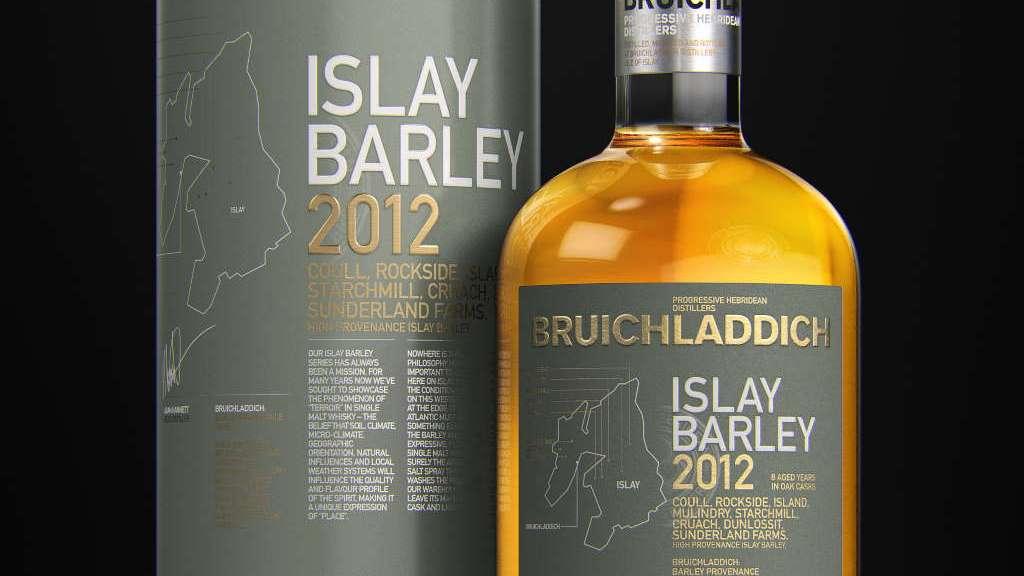 Bruichladdich Islay Barley 2012