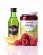 Dufftown Adventure Himbeer Marmelade mit Glenfiddich Whisky (c) meinefrucht.de