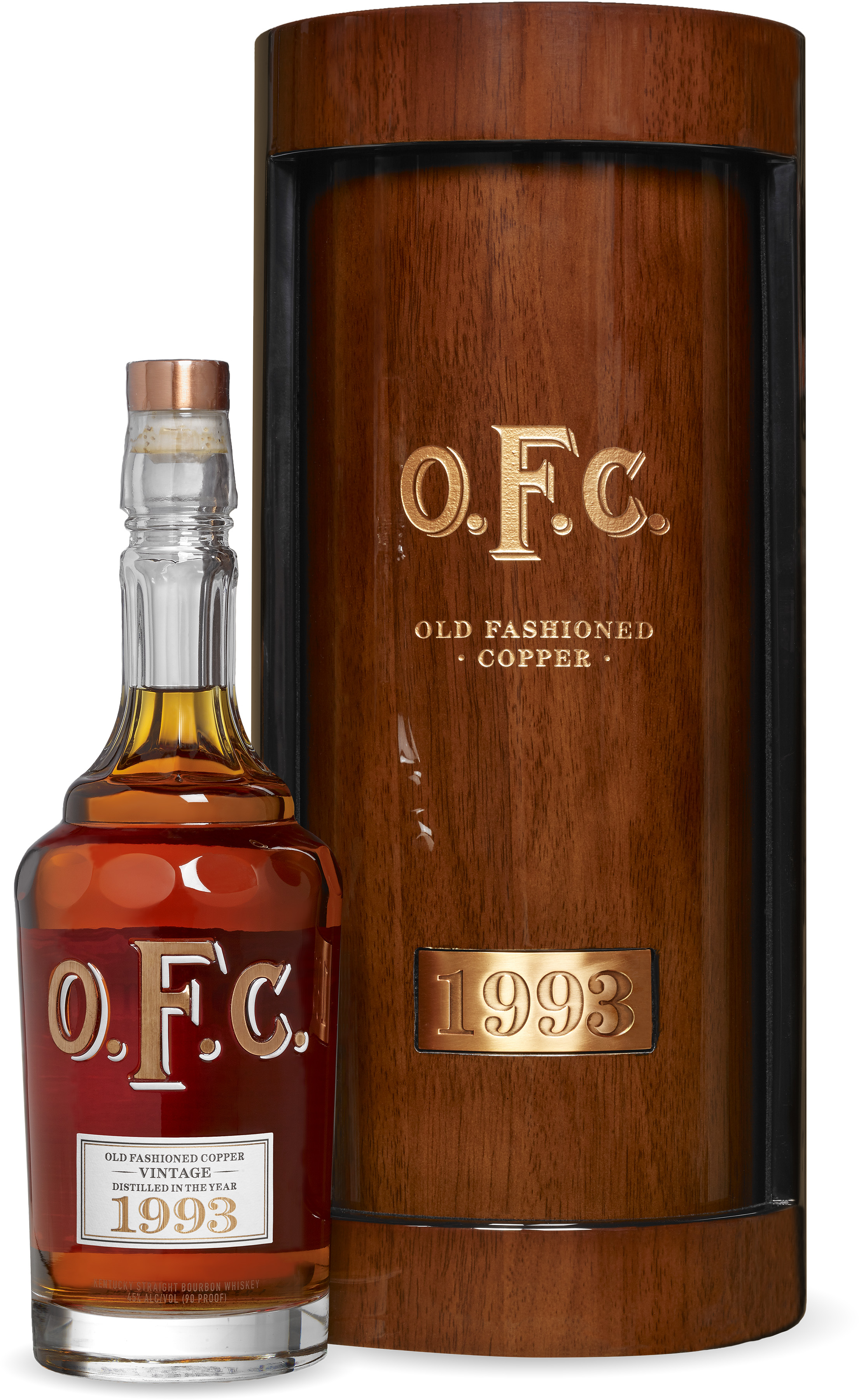 WhiskyIntelligencecom  Blog Archive  BUFFALO TRACE DISTILLERY RELEASES 1993 VINTAGE OFC