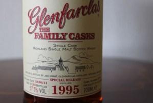 Glenfarclas Family Cask 1995 Usquebaugh society NL