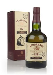 And today : Whiskey – Redbreast 12 cask strength