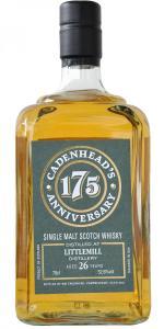 Littlemill 1991 – Cadenhead's 175h Anniversary edition