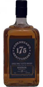 Rosebank 25 yo  Cadenhead's 175 anniversary bottling