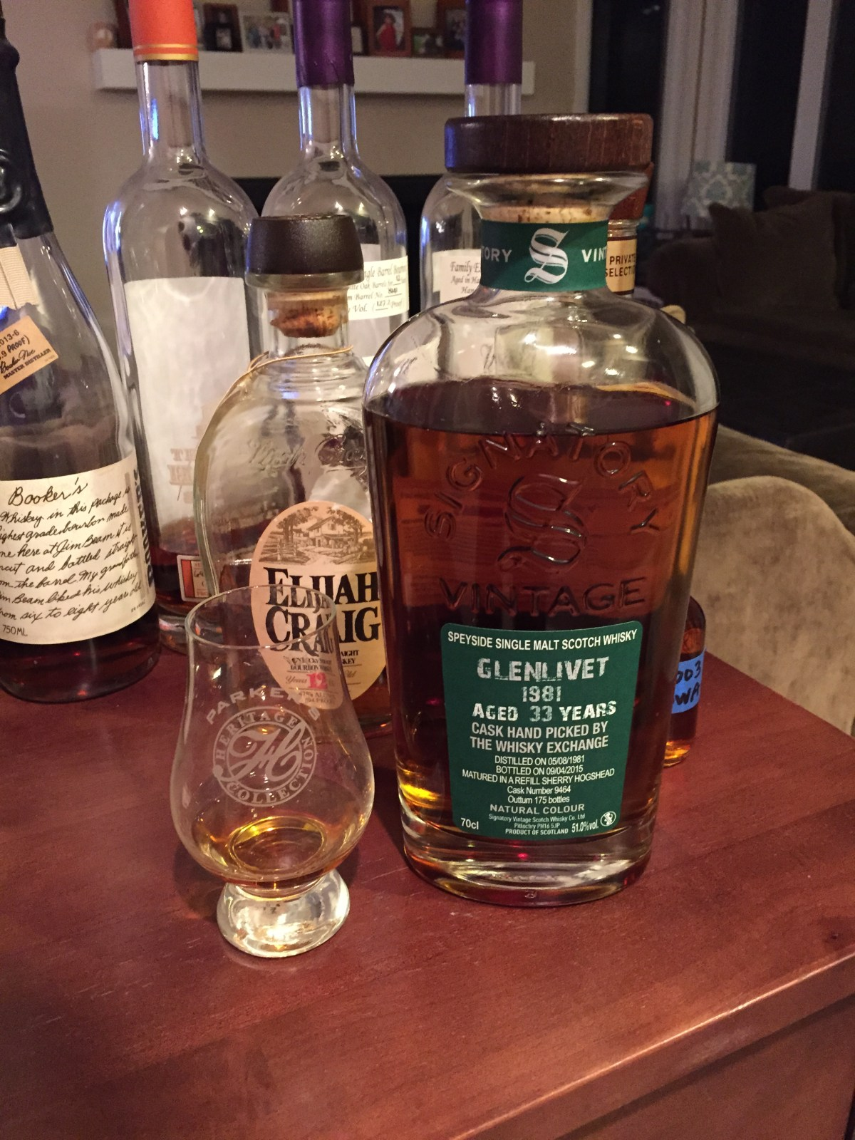 Glenlivet 33 (Signatory Vintage TWE Selection Cask 9464) Review
