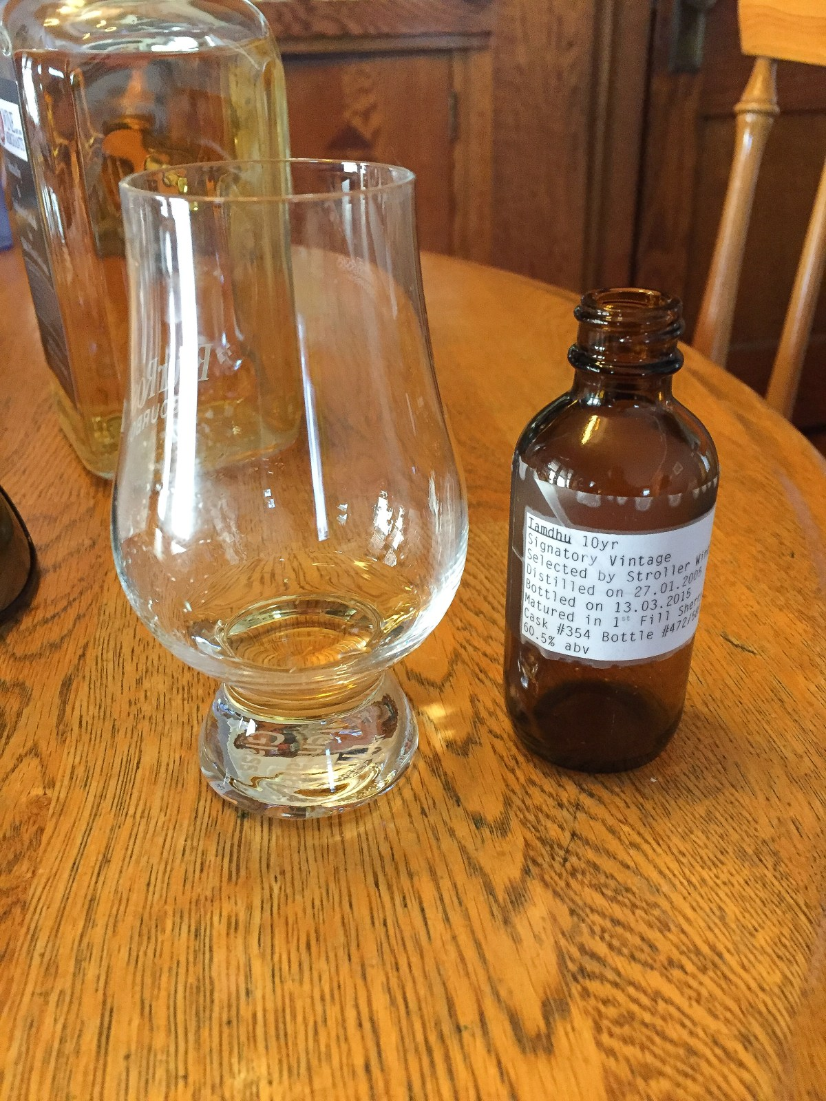 Tamdhu 10 (Signatory Vintage Cask #354 Binny's Selection) Review