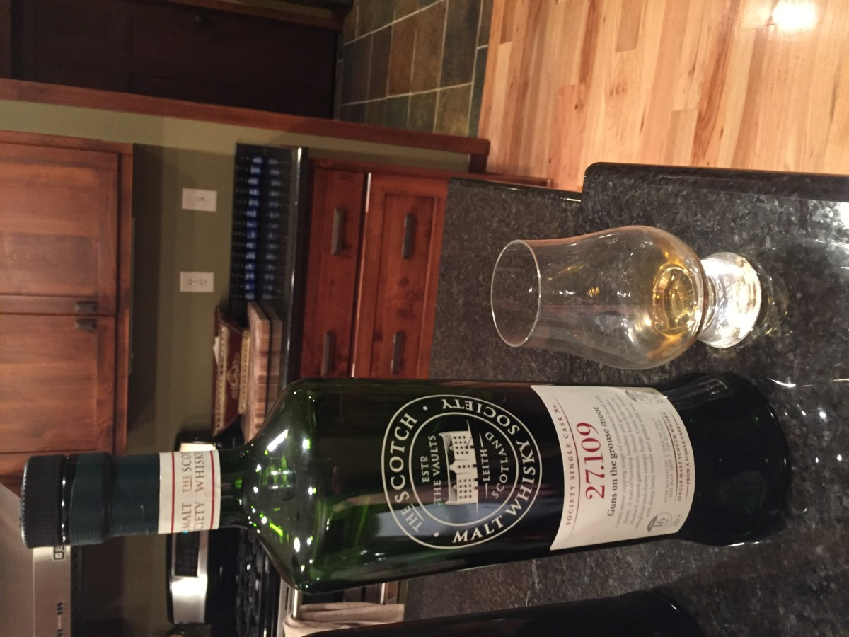 """SMWS 27.109 """"Guns on the Grouse Moor"""" (Springbank 16) Review"""
