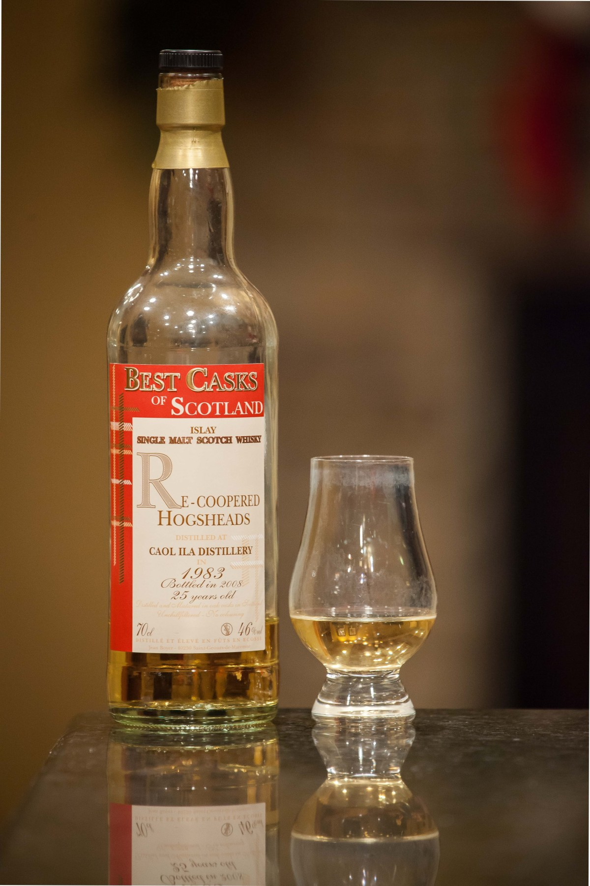 Caol Ila 25 (Best Casks of Scotland 1983/2008) Review